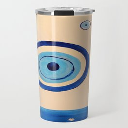 the ocean eye Travel Mug