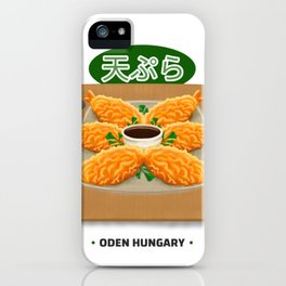 Tempura Hungry Shirt - Funny Japanese Asian Food T Shirt Slim Fit T-Shirt iPhone Case