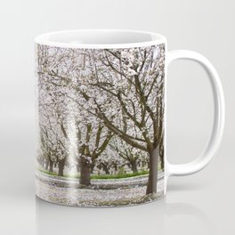 White Fruit Blossom Tree Photography Coffee Mug