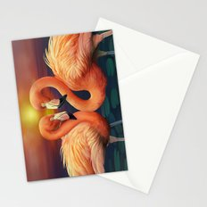 Flamingo Love Stationery Cards