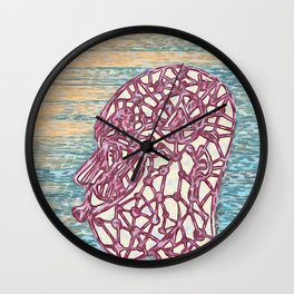 Many Faces of Me Wall Clock