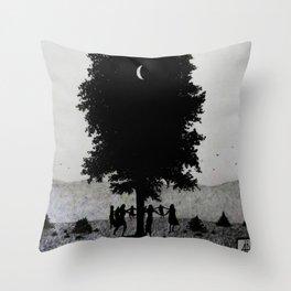 Moon Dance Throw Pillow