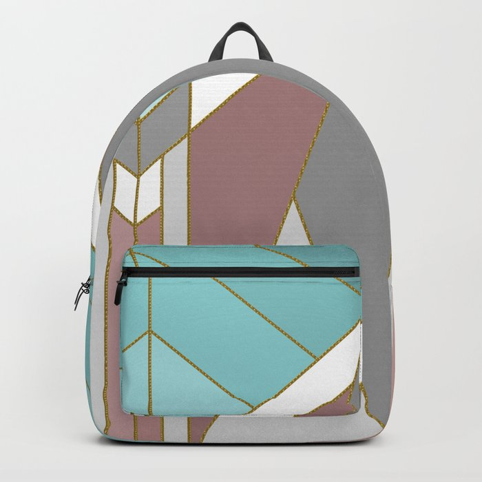ART DECO G2 (abstract geometric) Backpack
