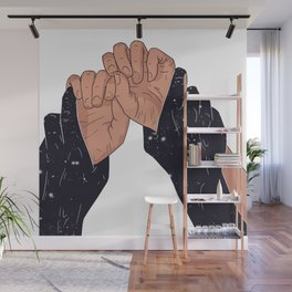 TIGHTLY Wall Mural