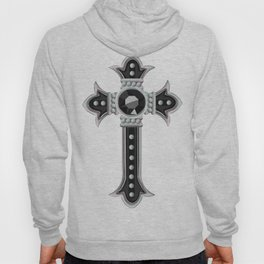 Classical Vintage Gothic Cross Hoody