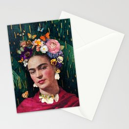 Frida Kahlo :: World Women's Day Stationery Cards