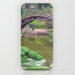The Japanese Garden at Huntington Gardens iPhone Case