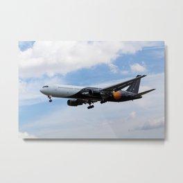 Titan Airways Boeing 767 Metal Print