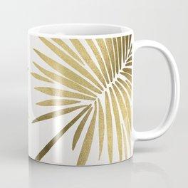 Tropical Fan Palm – Gold Palette Coffee Mug