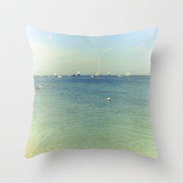 Capri, Amalfi Coast, Italy 9 Throw Pillow