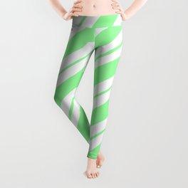 Chrysoprase Green Peppermint Leggings