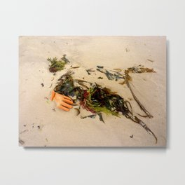 swept away by the tide  Metal Print