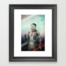 Stardust to Stardust Framed Art Print