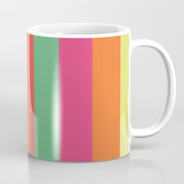Stripes Colours Coffee Mug