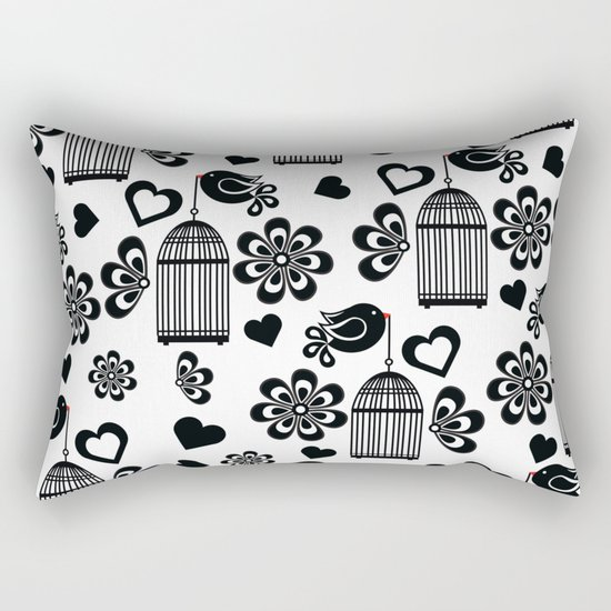 Pattern N Rectangular Pillow