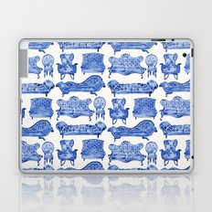 Victorian Lounge – Navy Palette Laptop & iPad Skin