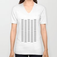 221b V-neck T-shirts featuring 221B by Trance of Reading