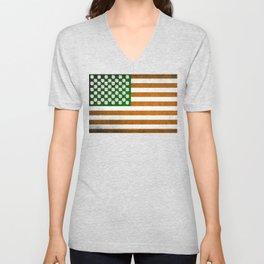 Irish American 015 Unisex V-Neck