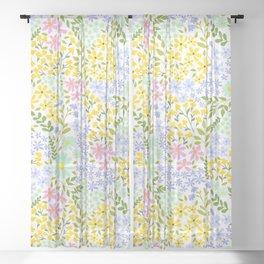 English Garden Sheer Curtain