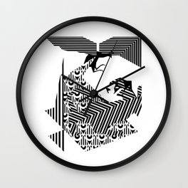 fray Wall Clock