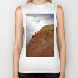 Buttes of New Mexico - On the Road to Santa Fe, No. 7 Biker Tank