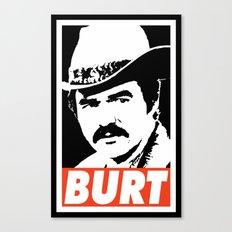 BURT Canvas Print
