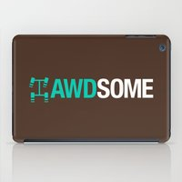 audi iPad Cases featuring AWDSOME v3 HQvector by Vehicle