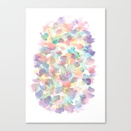 150725 My Happy Bubbles 10 Canvas Print