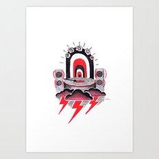 Rock it! Art Print