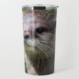Asian short clawed otter Travel Mug
