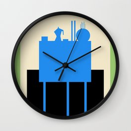 BLUE STILL LIFE  Wall Clock
