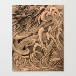The Wind and the Water Canvas Print