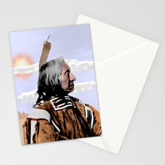Chief Red Cloud. Oglala Lakota. 1898 COLOR - 026c Stationery Cards