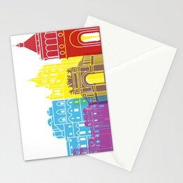Palermo skyline pop Stationery Cards