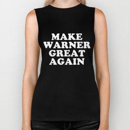 Make Warner Great Again TShirt Biker Tank