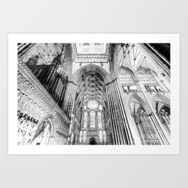 York Minster Art Art Print