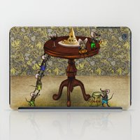 cheese iPad Cases featuring Cheese by Anna Shell