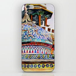 Dome of the Wazir Khan Mosque iPhone Skin