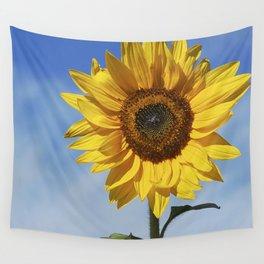 Sunflower flower Wall Tapestry