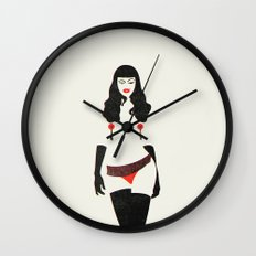 A Wink & A Smile Wall Clock