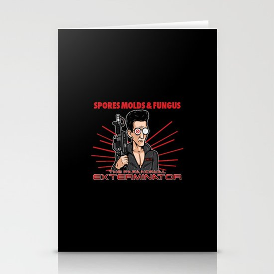 The Paranormal Exterminator Stationery Cards
