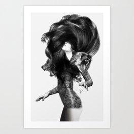 Bear #3 Art Print