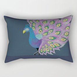 Peafowl #society6 #feathers Rectangular Pillow