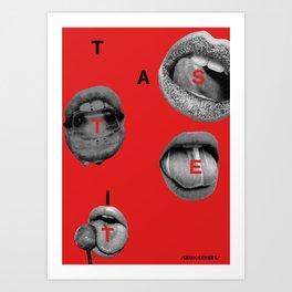 Taste It Art Print