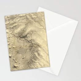 Vintage Map of The Colorado River (1858) Stationery Cards