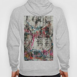 Analog Synthesizer, Abstract painting / illustration Hoody