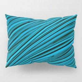 Blades of Grass Blue and Green Pillow Sham