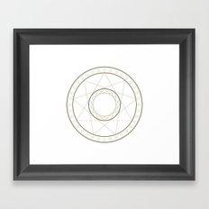 Anime Magic Circle 14 Framed Art Print