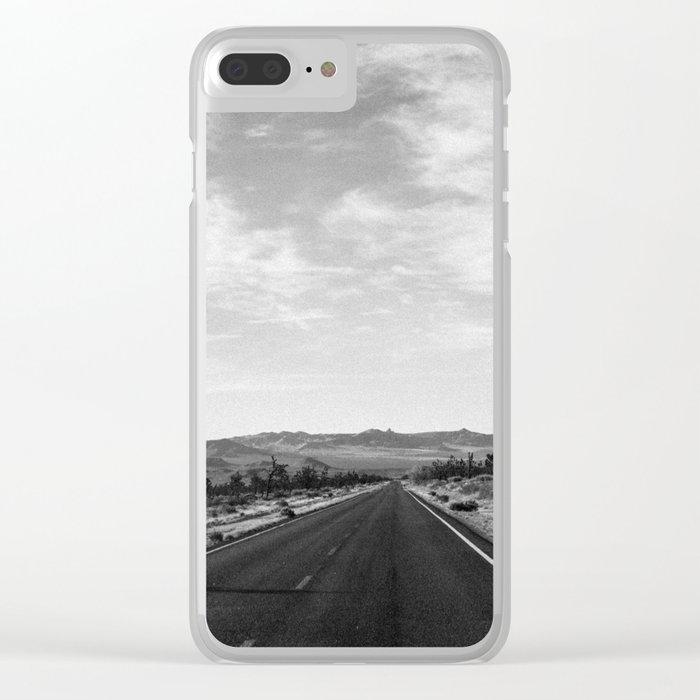 Joshua Tree Clear iPhone Case