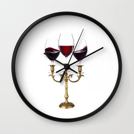Relaxing evening Wall Clock